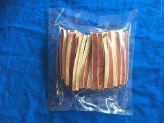 kip en vis strips 400 G verpakt