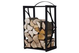 Magnus Firewood Racks R130A black 50x25X80cm