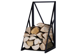 Magnus Firewood Racks R129B black 45x40X80cm