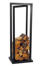 Magnus Firewood Racks R121 black 42x35X120cm