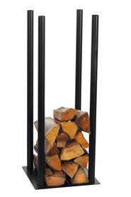 Magnus Firewood Racks R120A black 30x30X90cm