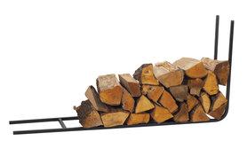 Magnus Firewood Racks R117 black 90x50X20cm