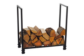 Magnus Firewood Racks R115B black 90x31x70cm