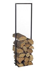 Magnus Firewood Racks R112C black 45x25x150cm