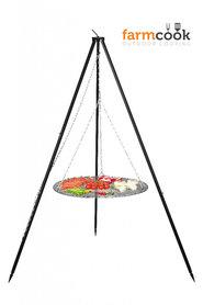 Farmcook grill nobel black steel grate 50/60/70 cm