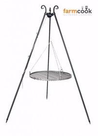 Farmcook grill Viking black steel grate 50/60/70 cm