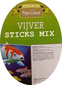 Vijver Sticks Mix 10 Liter