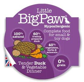Little Big Paw malse eend / Groenten Dinner Hondenvoer