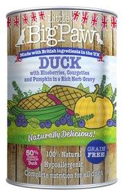 Little Big Paw Naturally Delicious Eend / Groenten Hondenvoer 390 gram