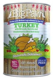 Little Big Paw Naturally Delicious kalkoen/ Groenten Hondenvoer 390 gram
