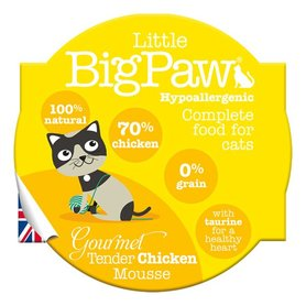 Little Big Paw malse kip mousse kattenvoer