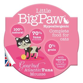 Little Big Paw malse tonijn mousse kattenvoer