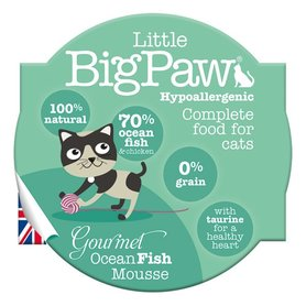 Little Big Paw malse oceaanvis mousse kattenvoer