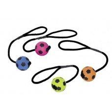 nobby speelgoedtouw met rubberen voetbal
