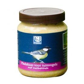 Vogelbescherming - Pindakaas voor Tuinvogels met Meelwormen 330 gram