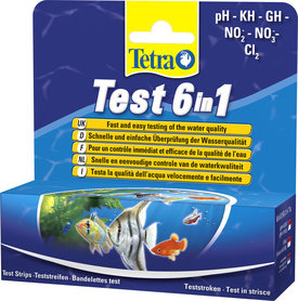 Tetra Test 6in1 Doos 25 Teststroken