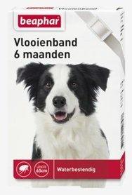 Beaphar Vlooienband Hond Wit