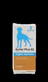No Worm Exitel Plus XL 2 tabletten vanaf 17,5 kg
