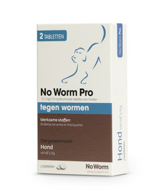 No Worm Pro 2 tabletten vanaf 5 kg