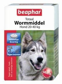 Beaphar Totaal Wormmiddel Grote Hond (20-40kg)