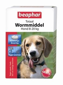 Beaphar Totaal Wormmiddel Middel Grote Hond (8- 20kg)