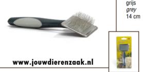 Slickerborstel voor Knaagdier Met Soft-Grip 14 Cm