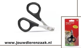 Nagelknipper voor Kat met Plastic Grepen Zwart 8 Cm