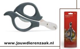 Nagelknipper voor Kat Met Soft-Grip Grijs 14.5 Cm