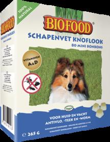 Biofood - Biofood Schapenvet Knoflook Mini