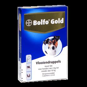 Bolfo Gold Hond 100 2 Pipetten