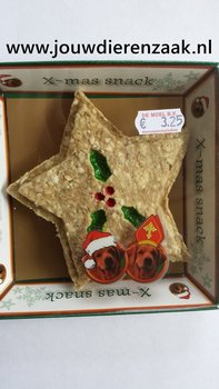 Munchy X-Mas Snack Kerstster Wit