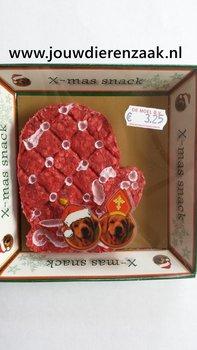 Munchy X-Mas Snack Handschoen Rood