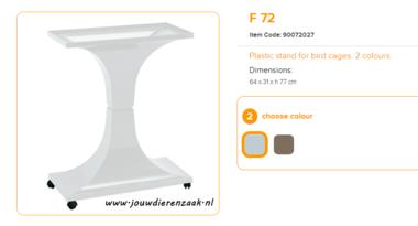 Ferplast - F72 Standaard Marmer 64 x 31 x 77 cm
