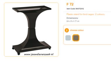 Ferplast - F72 Standaard Bruin 64 x 31 x 77 cm