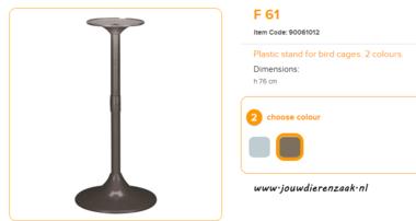 Ferplast - F61 Standaard Bruin 76 cm