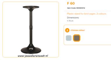 Ferplast - F60 Standaard Bruin 78 cm