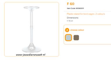 Ferplast - F60 Standaard Wit 78 cm