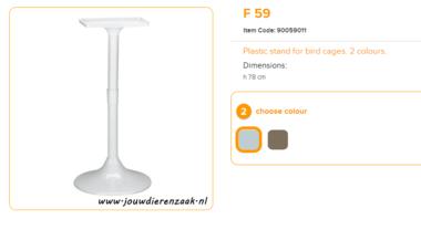 Ferplast - F59 Standaard Wit 78 cm