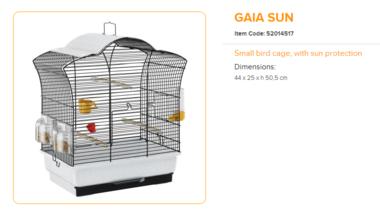 Ferplast - Gaia Sun 44 x 25 x 50,5 cm