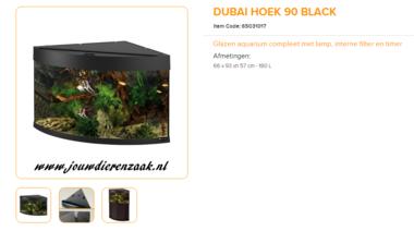 Ferplast - Dubai Corner 90 Zwart 66x93x57cm