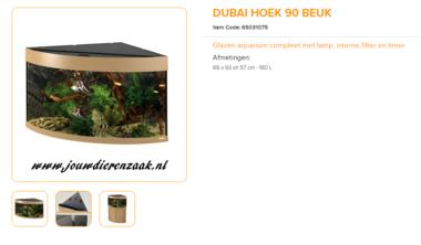 Ferplast - Dubai Corner 90 Beuken 66x93x57cm