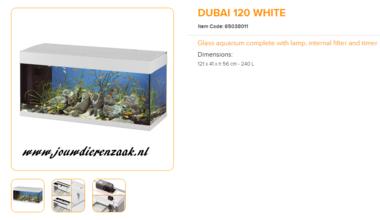 Ferplast - Dubai 120 Wit 121x41x56cm