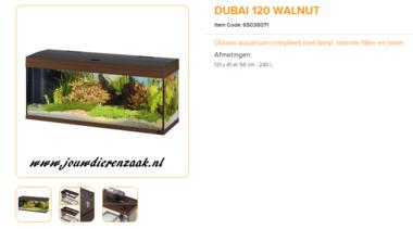 Ferplast - Dubai 120 Walnoot 121x41x56cm