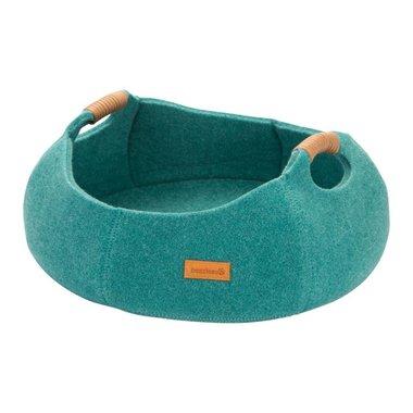Beeztees Textiele Ligmand Minoq 43,5x43,5x19cm (turquoise/grijs/blauw)