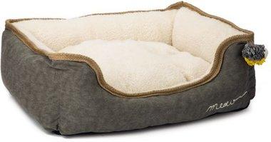 Beeztees Textiele Kattenmand Asa 50x40x20cm (grijs)