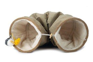 Beeztees Textiele Speeltunnel Fenn 25x90cm (beige)