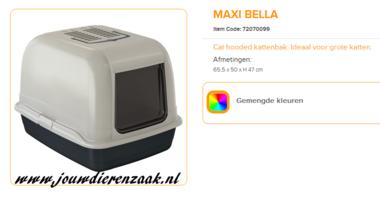Ferplast - Maxi Bella Kattentoilet