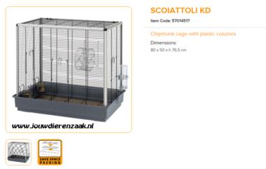 Ferplast - Scoiattoli KD 80 x 50 x 76,5 cm