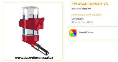 Ferplast - FPI 4660 Drinky 75 ml