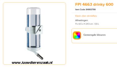 Ferplast - L 183 Drinky 600 ml
